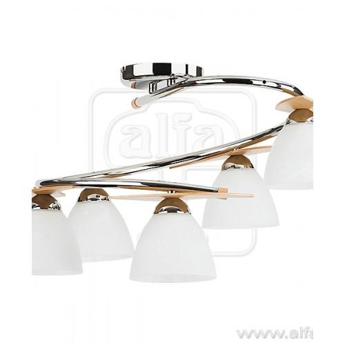 Alfa Archimedes silver 5345 плафониера