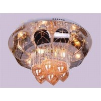 NIKOM NG BJC601 CEILING LIGHT WITH CRYSTAL