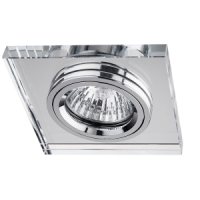 NIKOM DOWNLIGHT SQUARE  GLASS NG01