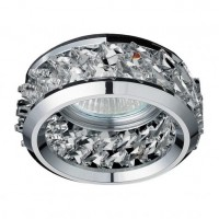NIKOM DOWNLIGHT ROUND  CRYSTAL  NG71056 CH