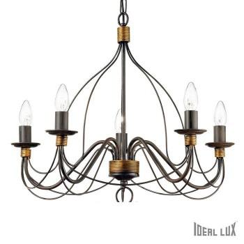 Ideal lux CORTE SP5 RUST/ 57187